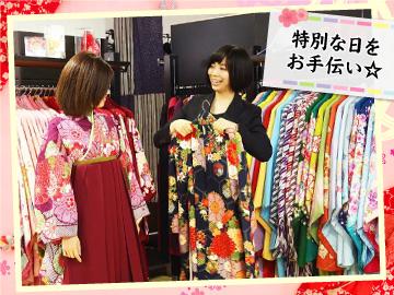 [A][P]【短期】卒業袴のレンタル衣装アドバイザーのイメージ