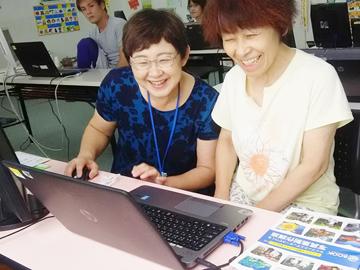 [A][P]パソコン教室のサポート・事務スタッフのイメージ